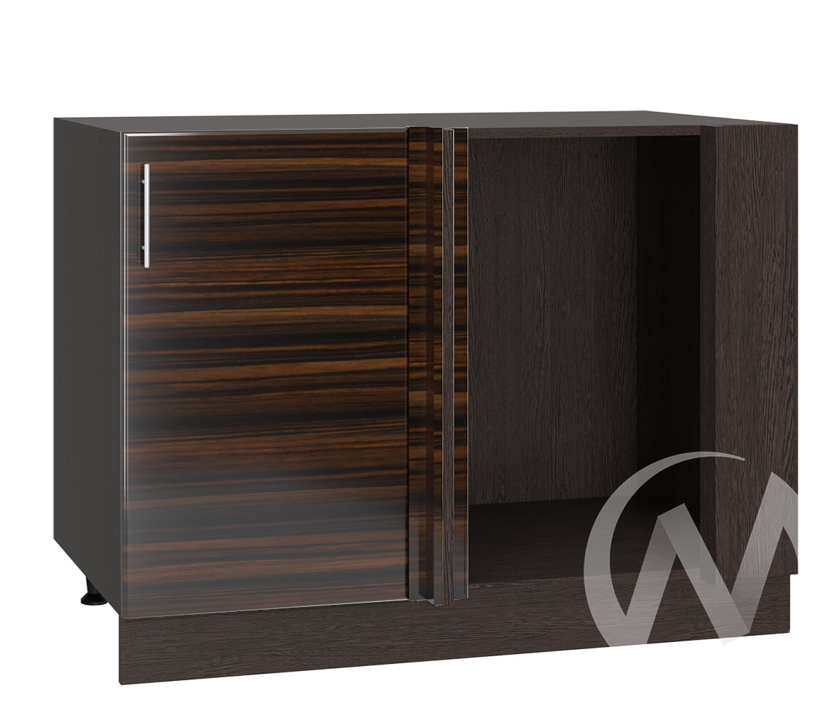 "Кухня ""Норден"": Шкаф нижний угловой 990М, ШНУ 990М (эбен/корпус венге)"