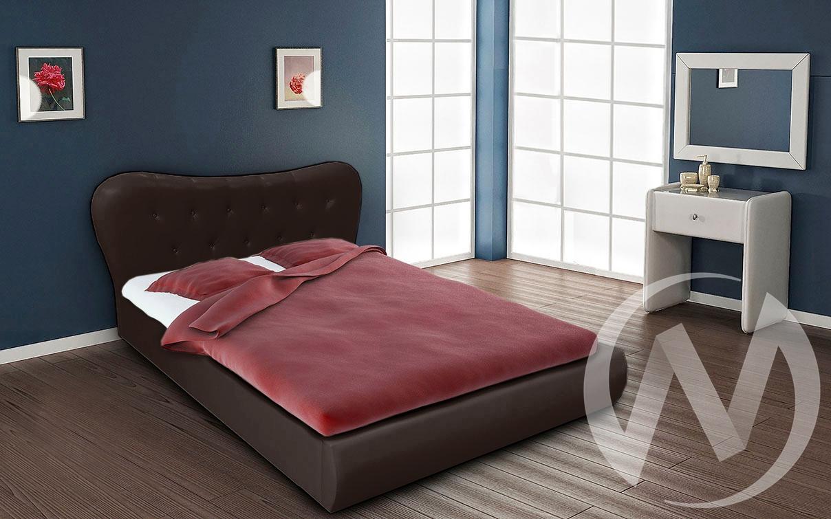 Кровать Лавита 1,6 (темно-коричневый)  в Томске — интернет магазин МИРА-мебель