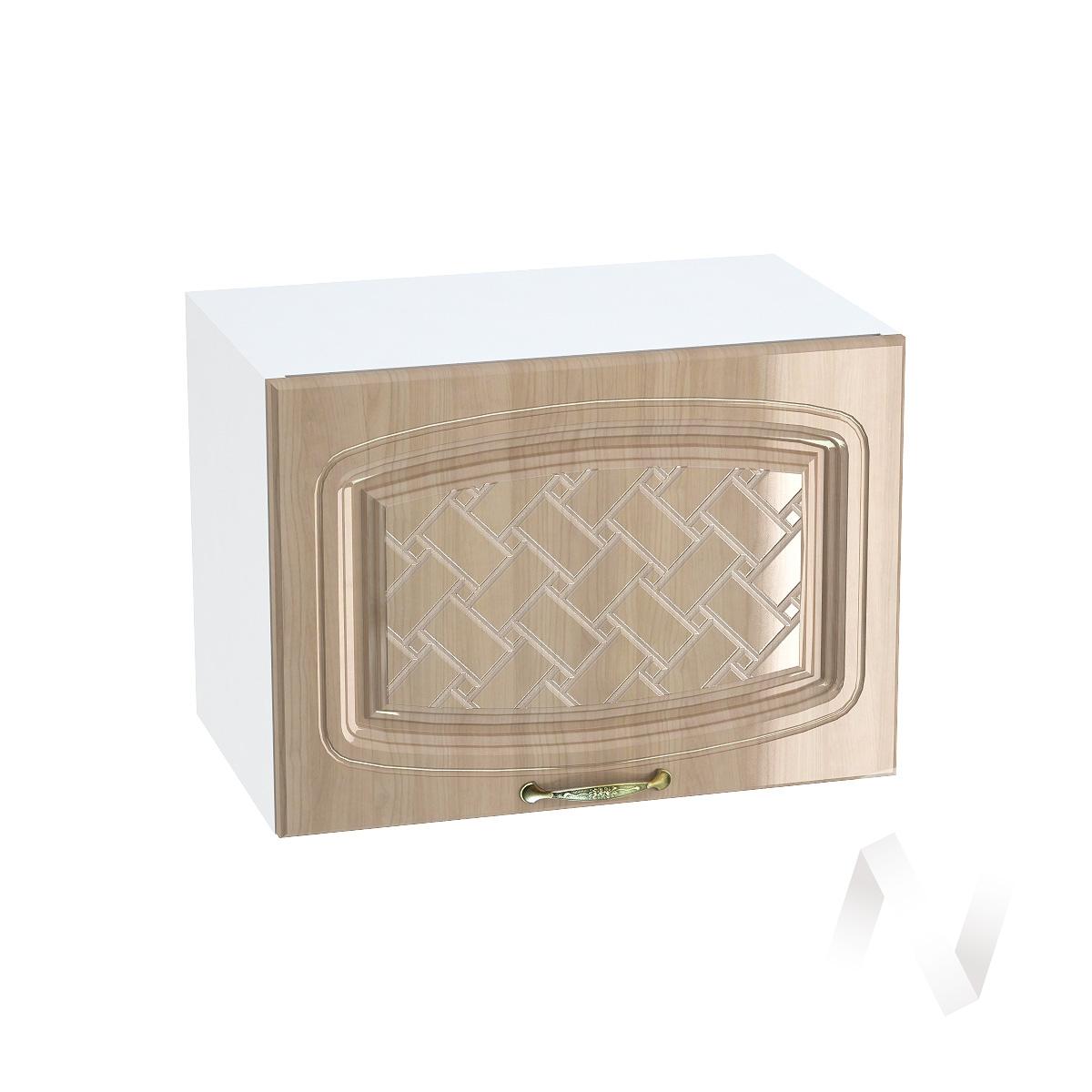 "Кухня ""Сити"": Шкаф верхний горизонтальный 500, ШВГ 500 (корпус белый)"