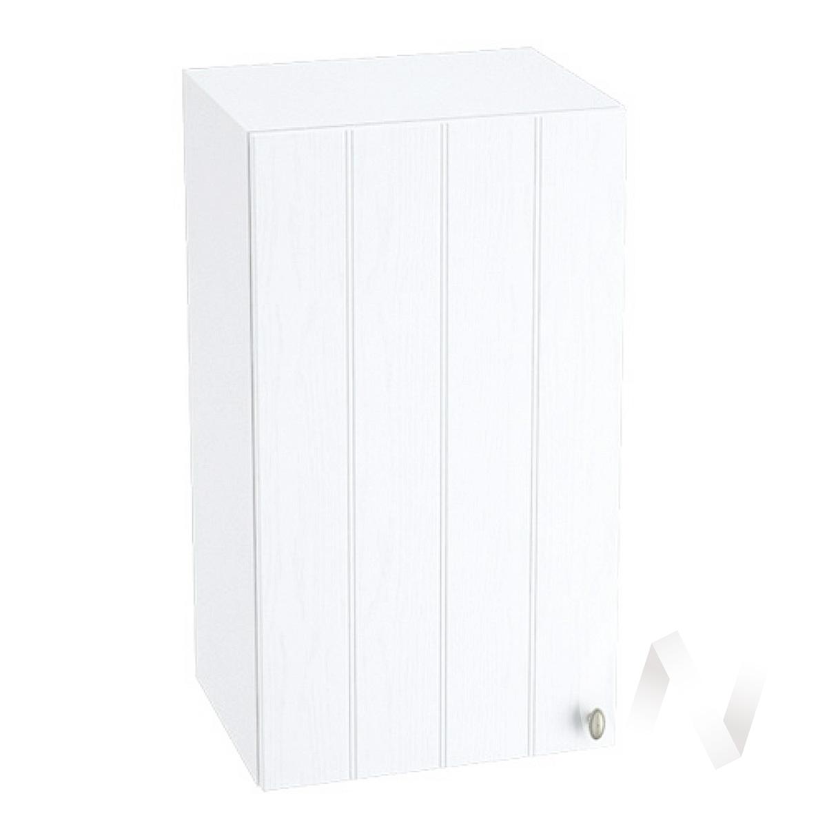 "Кухня ""Прованс"": Шкаф верхний 400, ШВ 400 (белое дерево/корпус белый)"