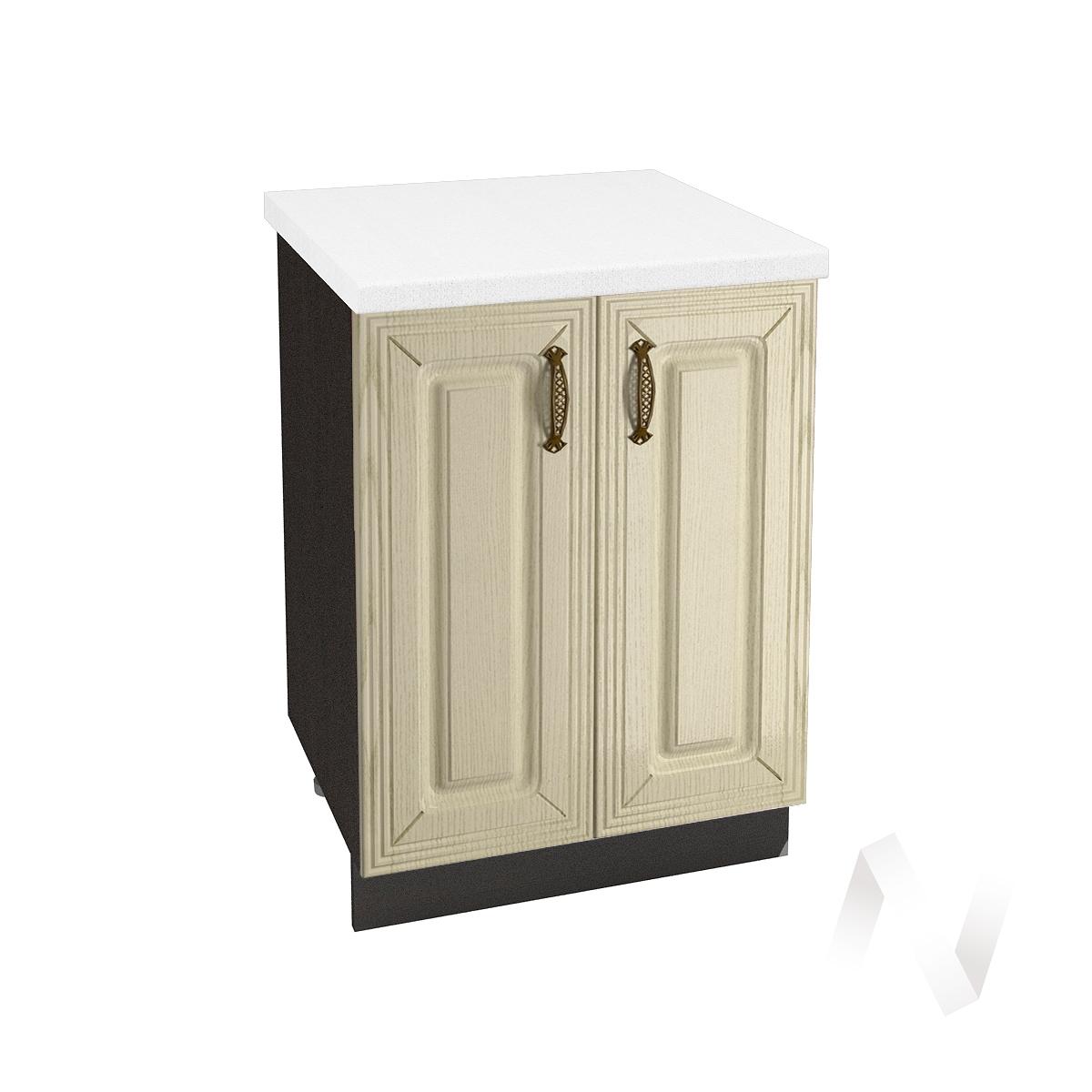 """Кухня """"Изабель"""": Шкаф нижний 600, ШН 600 (корпус венге)"""