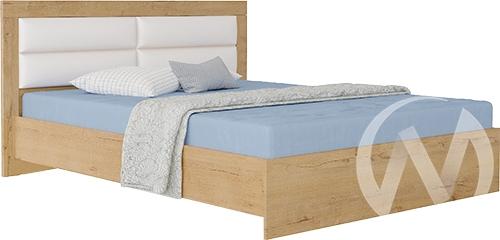 Светлана М15 Кровать 1,4 №2 (дуб бунратти/бодега)