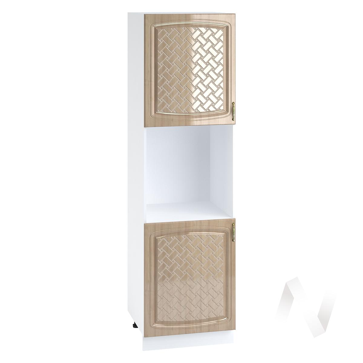 """Кухня """"Сити"""": Шкаф пенал 600, ШП 600 (корпус белый)"""