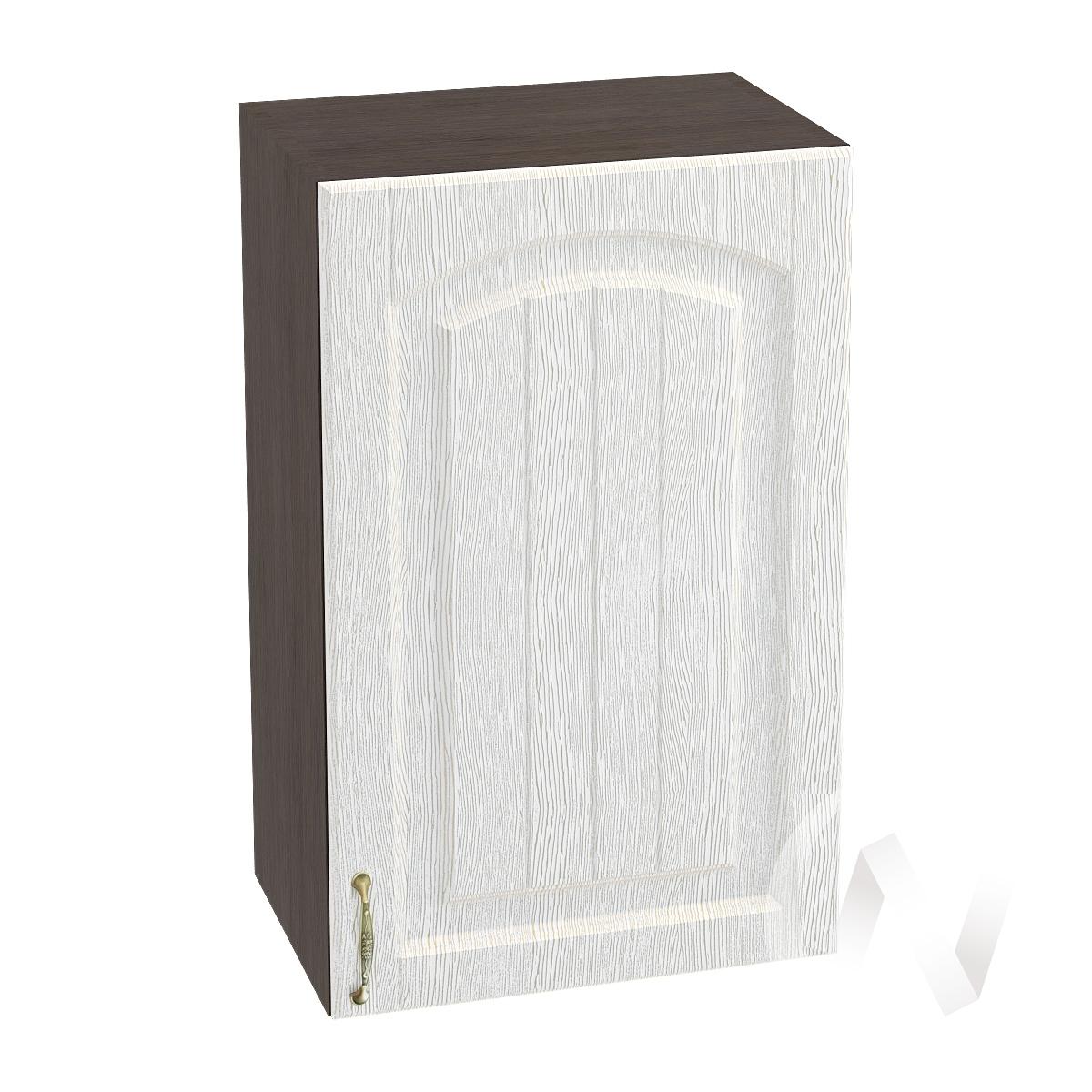 """Кухня """"Верона"""": Шкаф верхний 450 правый, ШВ 450 (ясень золотистый/корпус венге)"""