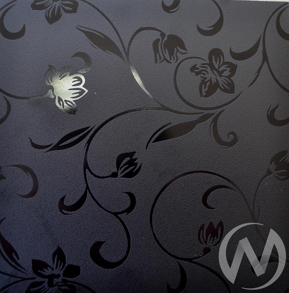 Стол Дачный с ящиком цветы черные  в Томске — интернет магазин МИРА-мебель