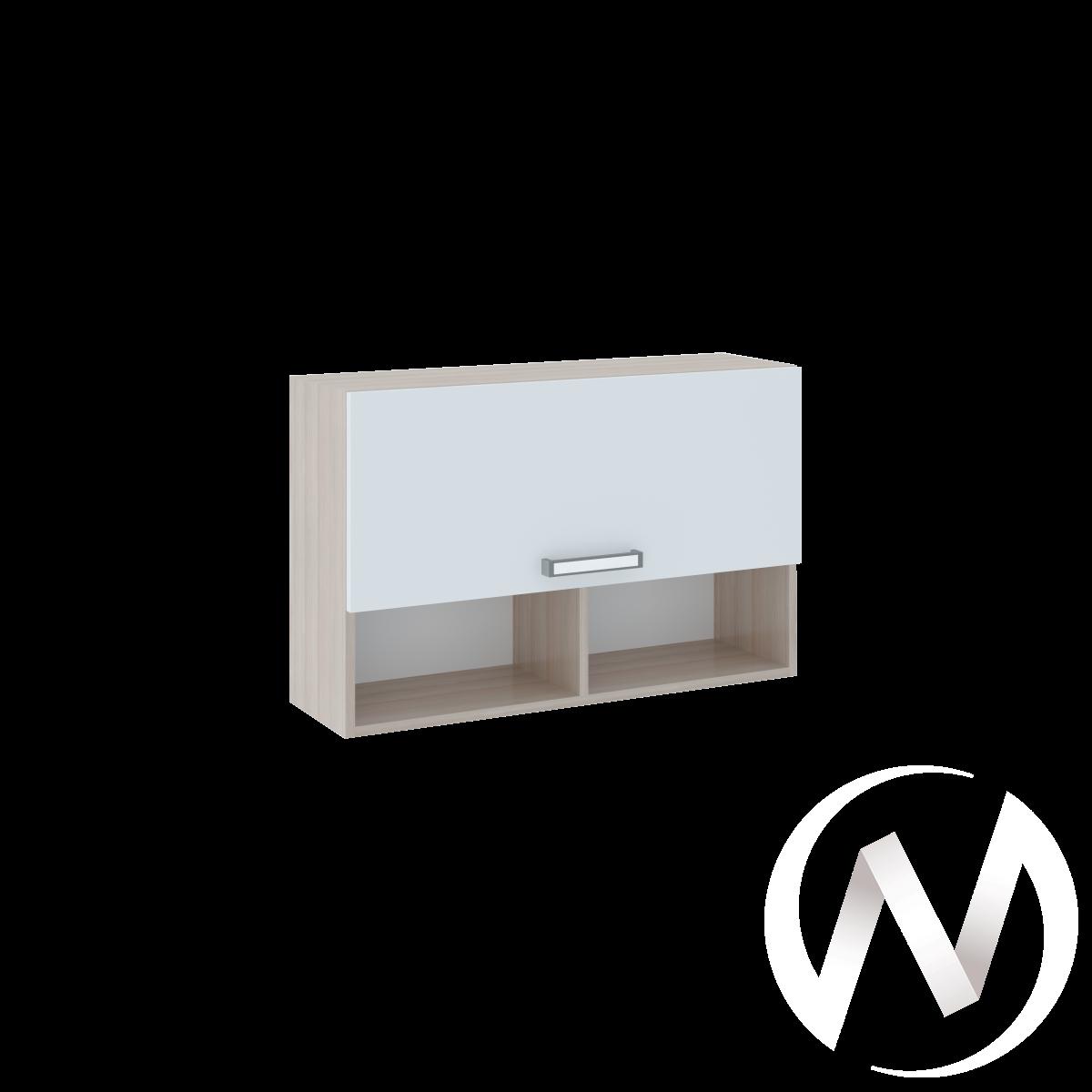 Walker М11 Полка 2 (ясень шимо светлый/белый)