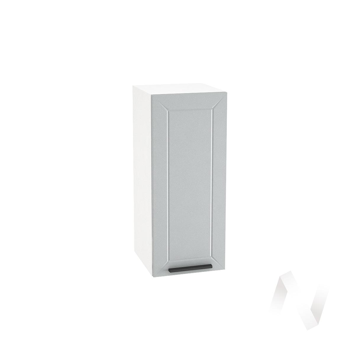 """Кухня """"Глетчер"""": Шкаф верхний 300, ШВ 300 (Гейнсборо силк/корпус белый)"""