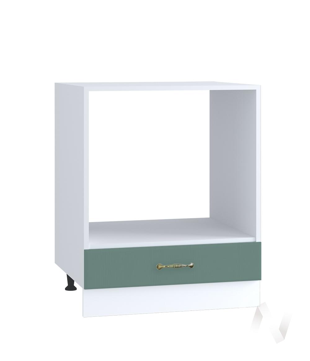 "Кухня ""Селена"": Шкаф нижний под духовку 600, ШНД 600 (Дуб бирюзовый/корпус белый)"
