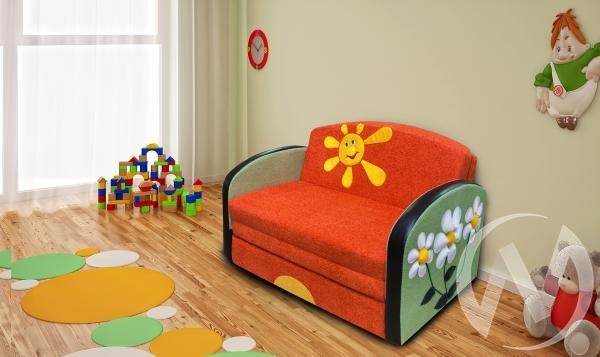 Полянка диван детский