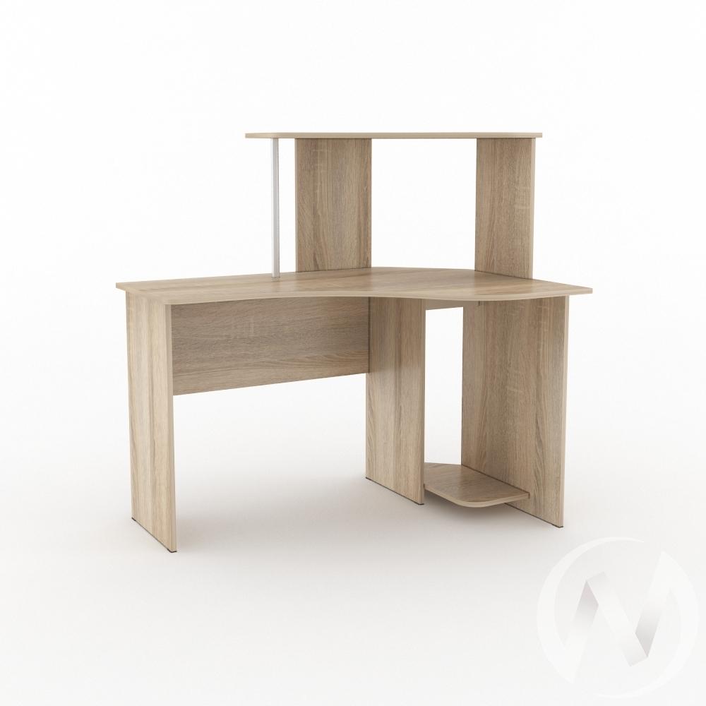 Компьютерный стол КС 1200 угловой (дуб сонома)  в Томске — интернет магазин МИРА-мебель