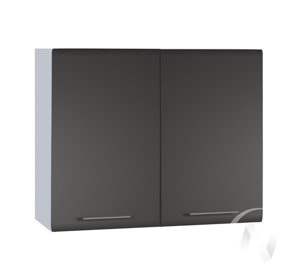 "Кухня ""Люкс"": Шкаф верхний 800, ШВ 800 (Шелк венге/корпус белый)"
