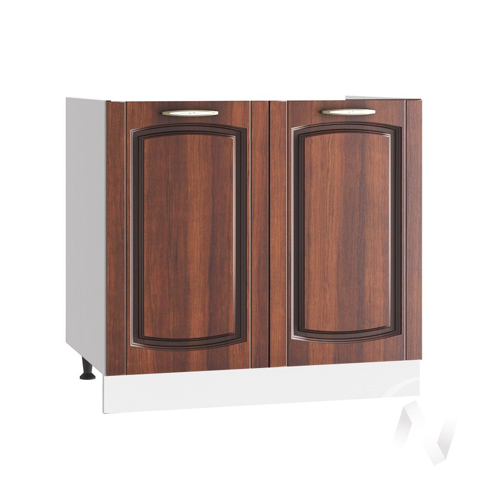 """Кухня """"Неаполь"""": Шкаф нижний под мойку 800, ШНМ 800 (Италия/корпус белый)"""