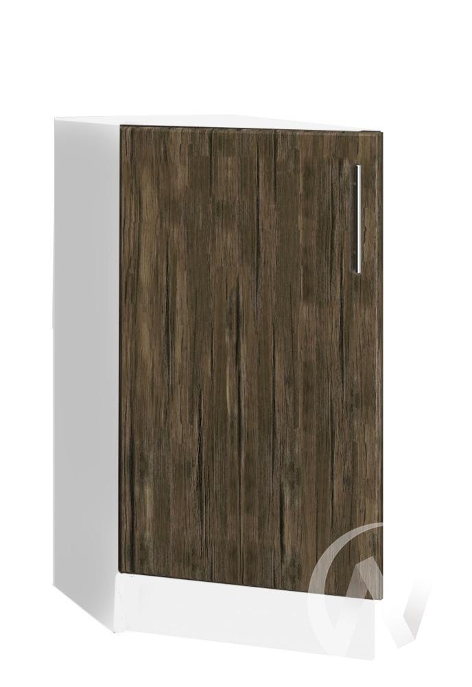 """Кухня """"Норден"""": Шкаф нижний торцевой 300, ШНТ 300 (старое дерево/корпус белый)"""