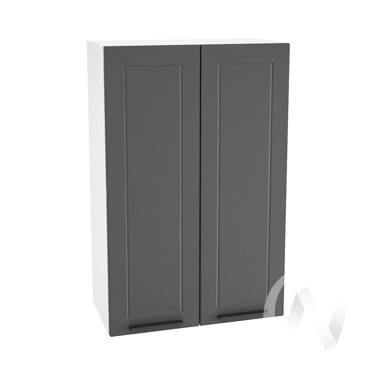 "Кухня ""Глетчер"": Шкаф верхний 609, ШВ 609 (Маренго силк/корпус белый)"