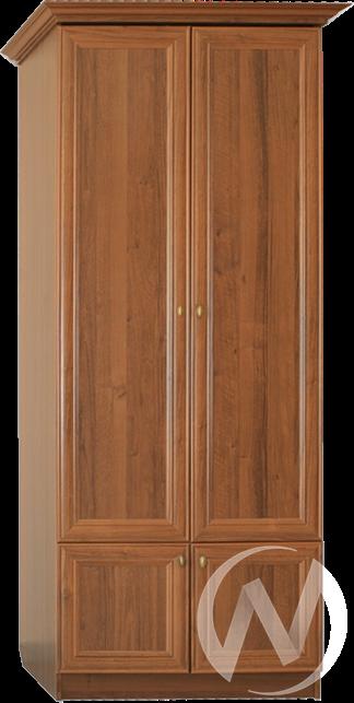 МС Диана Люкс М-13 Шкаф платяной (орех)  в Томске — интернет магазин МИРА-мебель