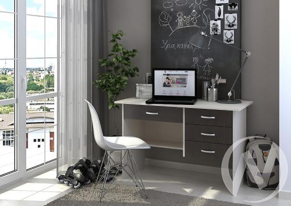 Стол письменный Сити (венге/дуб белфорт)