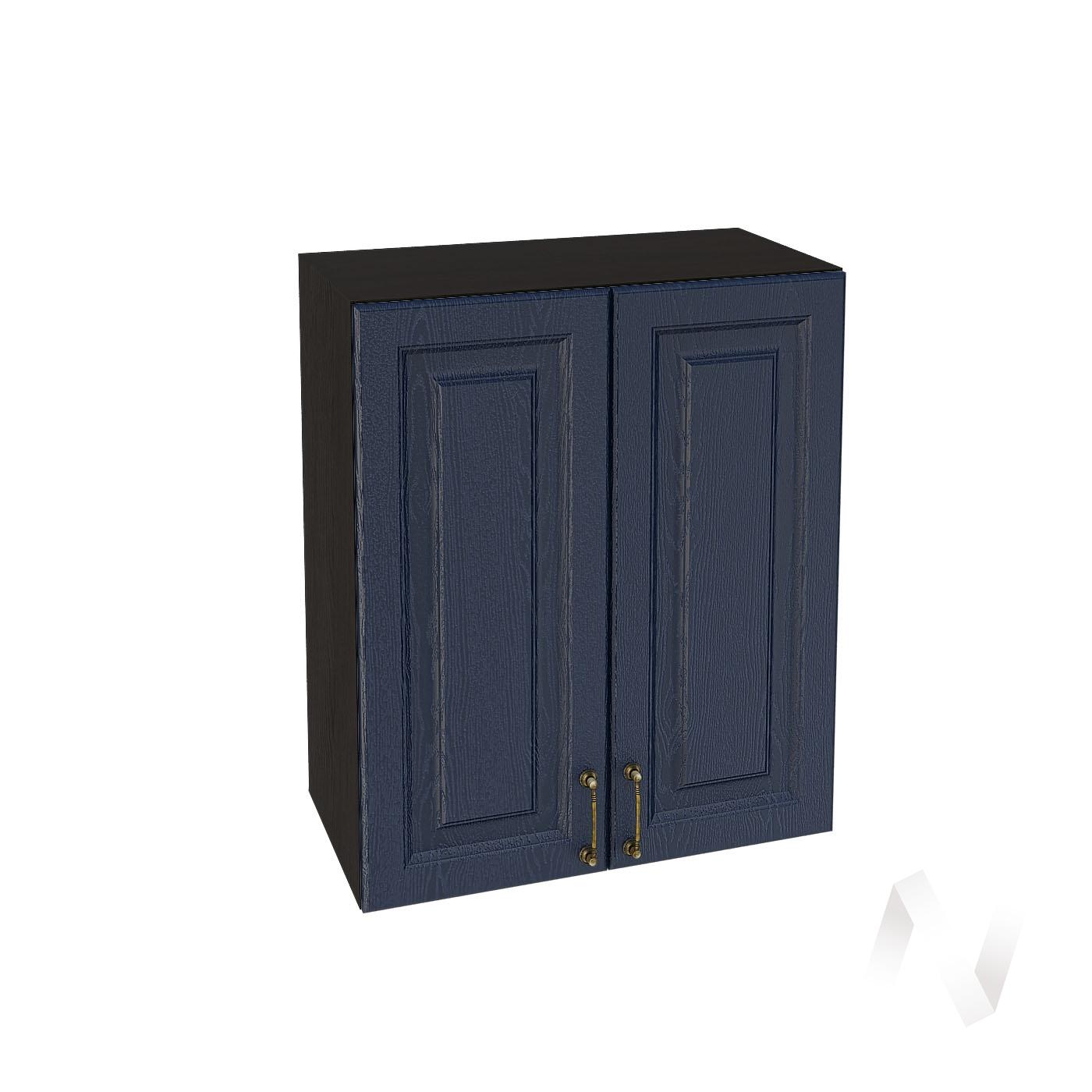 """Кухня """"Ницца"""": Шкаф верхний 600, ШВ 600 (Дуб чернильный/корпус венге)"""