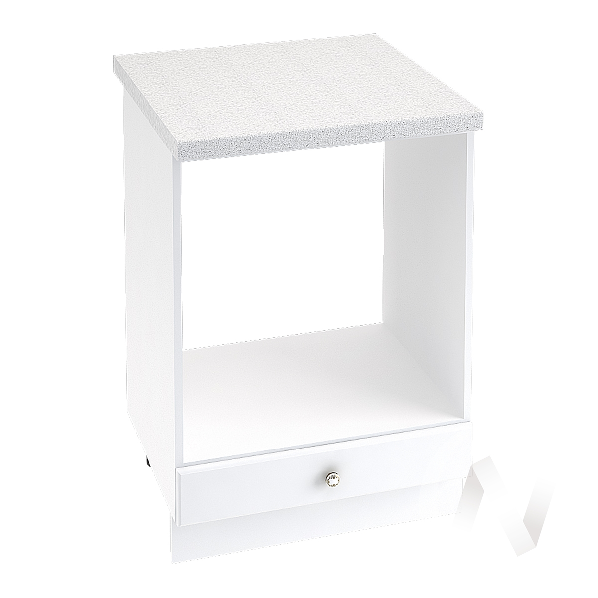 """Кухня """"Шарлиз"""": Шкаф нижний под духовку 600, ШНД 600 (корпус белый) в Новосибирске в интернет-магазине мебели kuhnya54.ru"""
