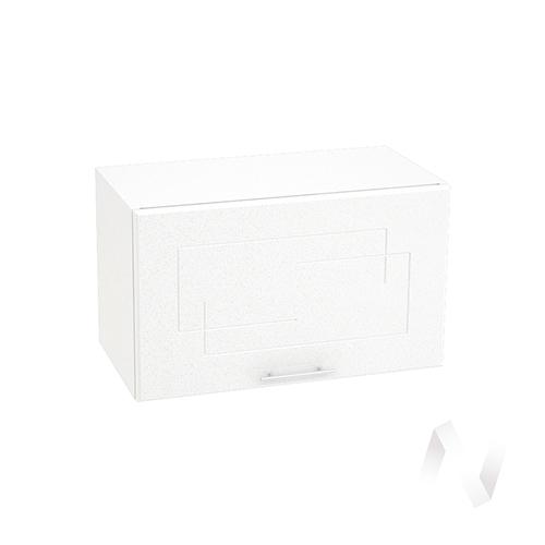 """Кухня """"Вега"""": Шкаф верхний горизонтальный 600, ШВГ 600 (белый металлик/корпус белый)"""