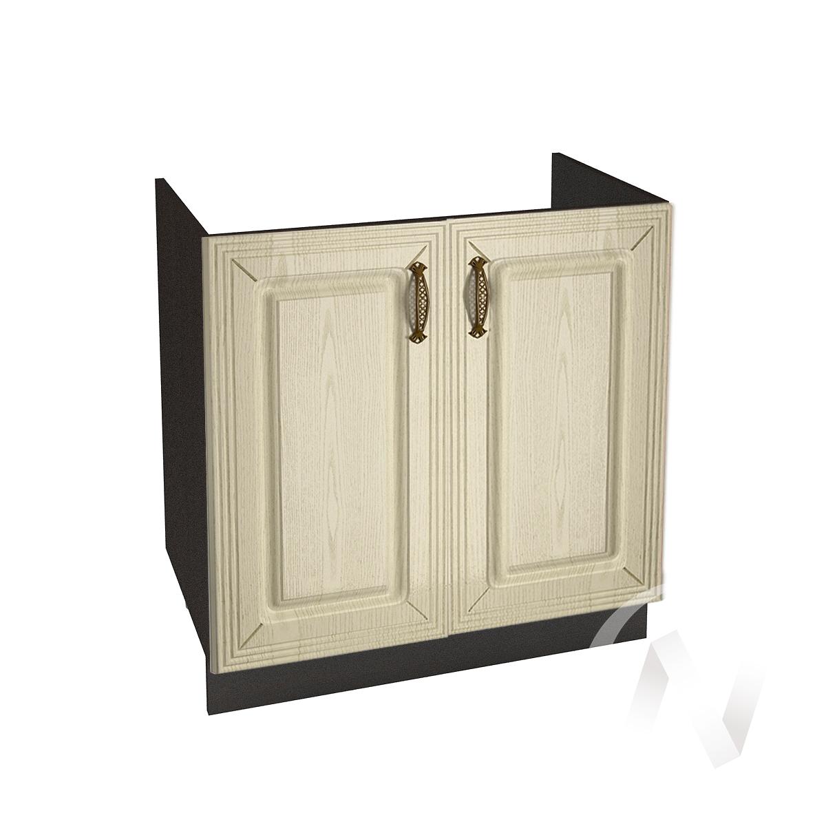 """Кухня """"Изабель"""": Шкаф нижний под мойку 800, ШНМ 800 (корпус венге)"""