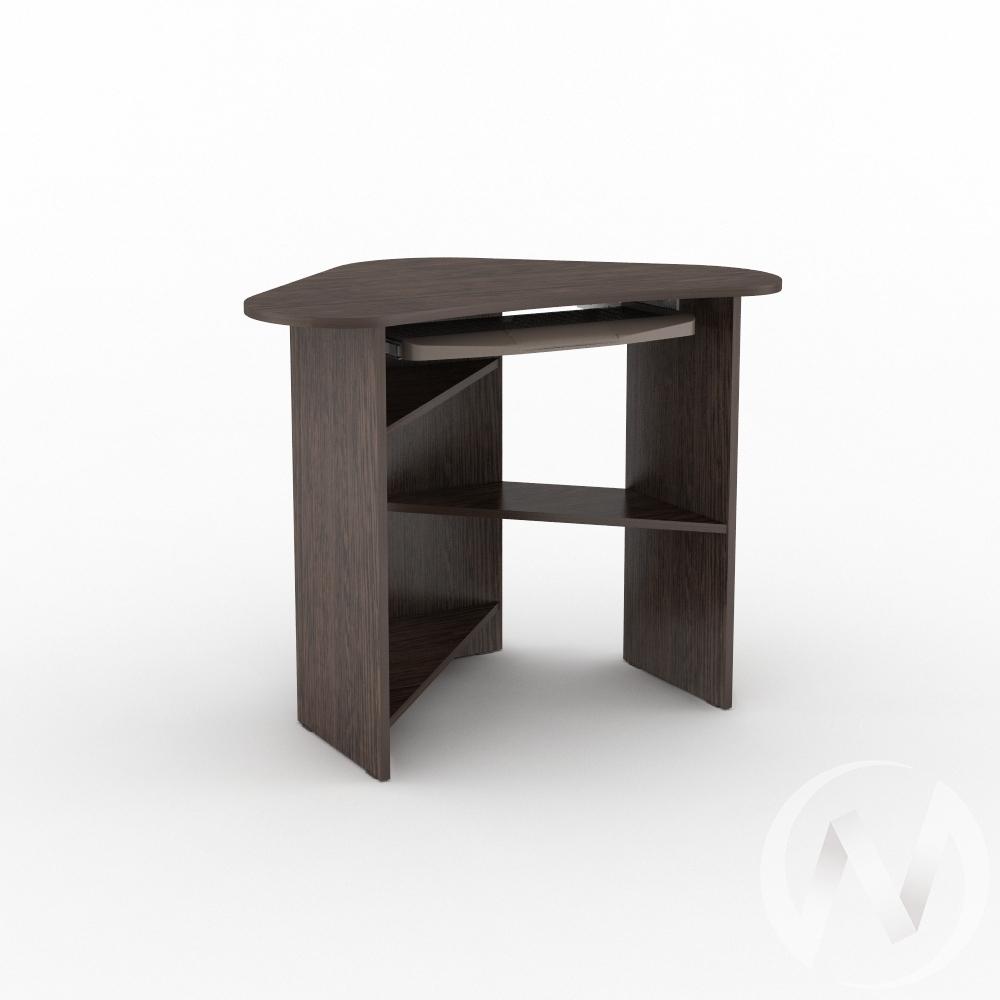 Компьютерный стол КС 800 угловой (венге)  в Томске — интернет магазин МИРА-мебель