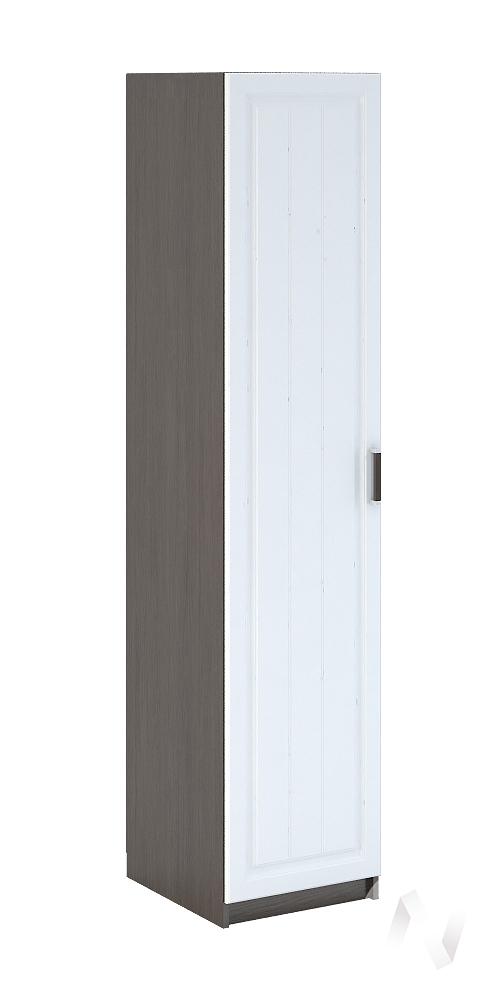 Прага Шкаф 1-створчатый МДФ (венге/белое дерево) ШК-901