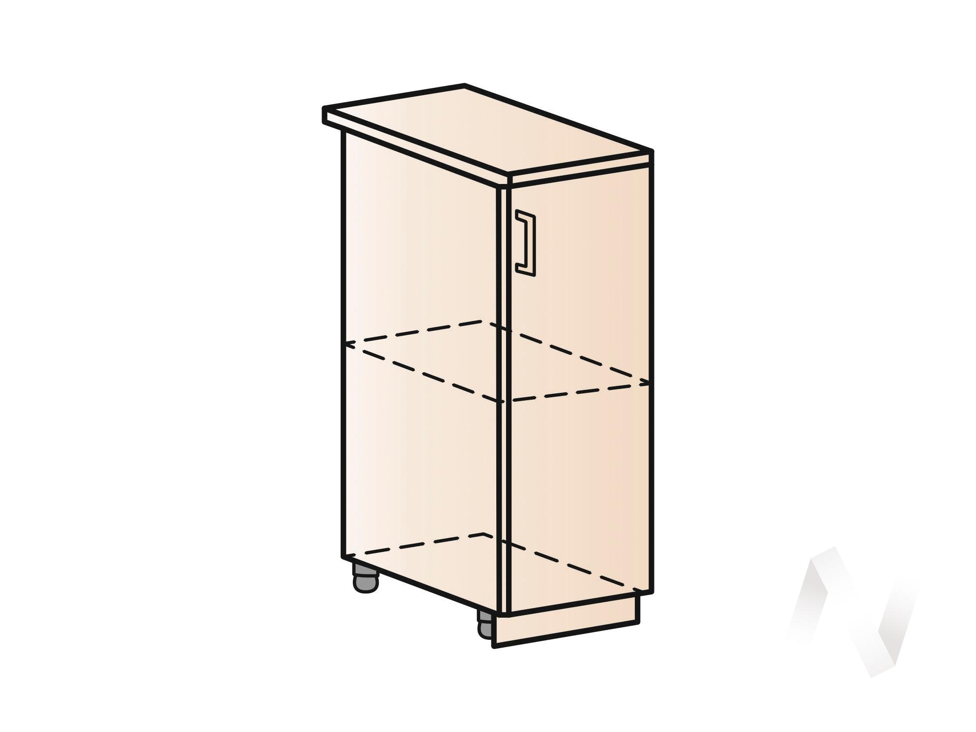 """Кухня """"Вена"""": Шкаф нижний 300, ШН 300 (корпус белый)  в Томске — интернет магазин МИРА-мебель"""