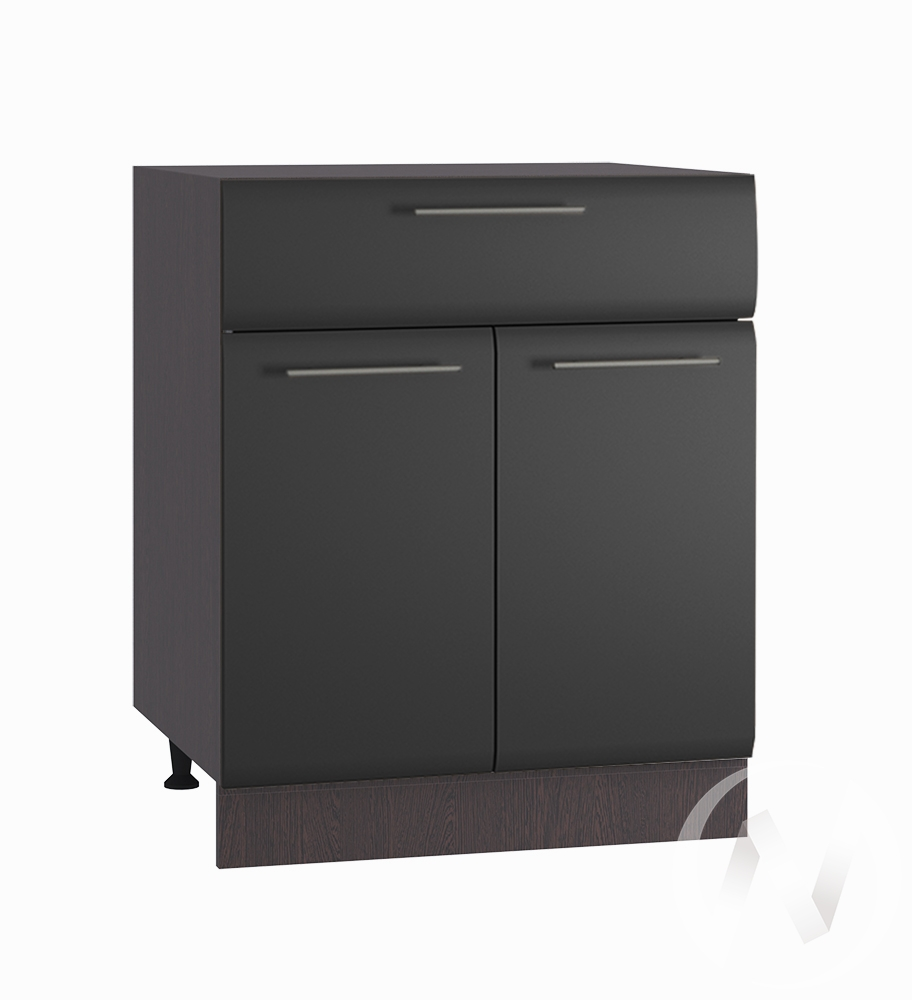 """Кухня """"Люкс"""": Шкаф нижний с ящиком 600, ШН1Я 600 М (Шелк венге/корпус венге)"""