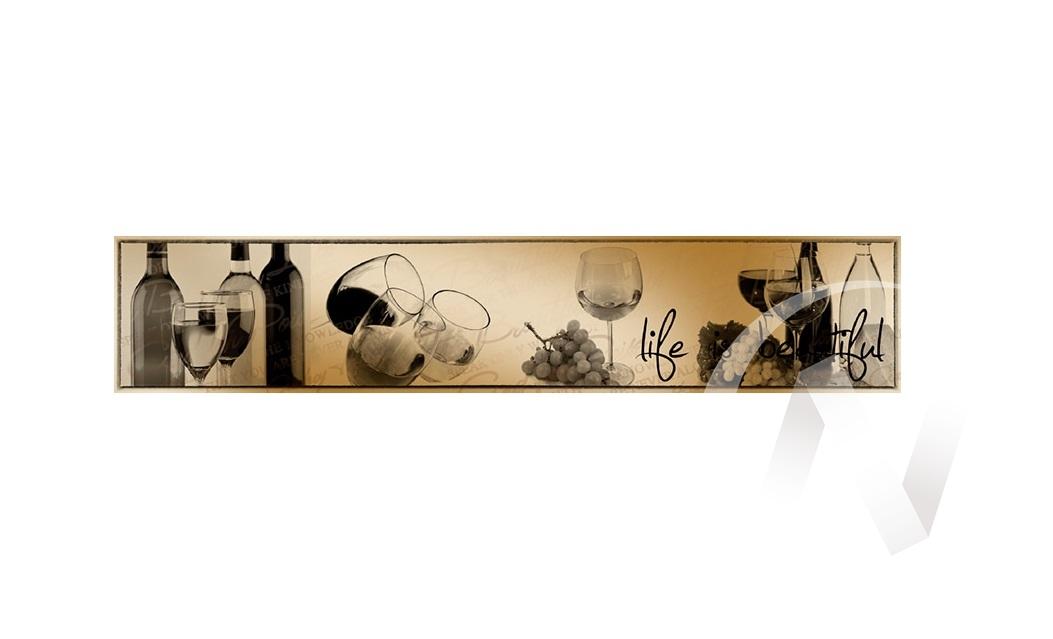 Панель декоративная АВС пластик 600*3000 Вино (364)  в Томске — интернет магазин МИРА-мебель