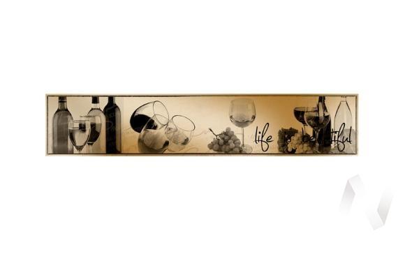 Панель декоративная АВС пластик 600*3000 Вино (364)
