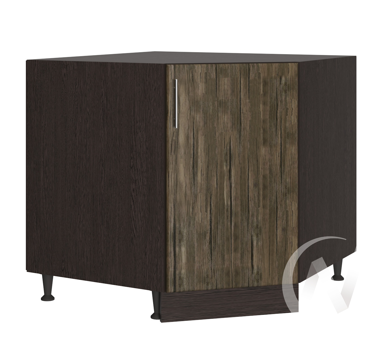 """Кухня """"Норден"""": Шкаф нижний угловой 890, ШНУ 890 (старое дерево/корпус венге)"""
