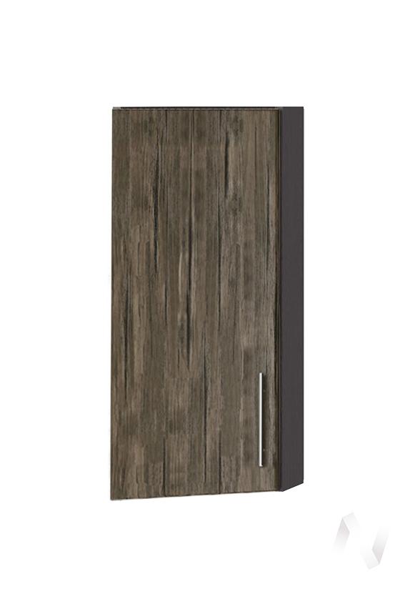 """Кухня """"Норден"""": Шкаф верхний торцевой 224, ШВТ 224 (старое дерево/корпус венге)"""