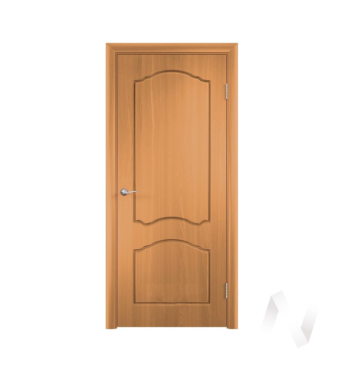 Дверь ПВХ Тип Азалия, 60, глухая, миланский орех  в Томске — интернет магазин МИРА-мебель