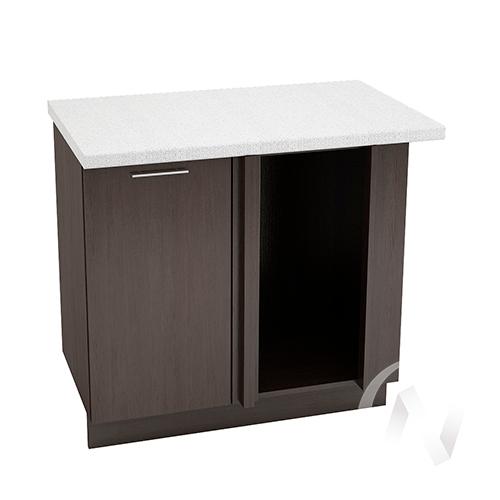 """Кухня """"Валерия-М"""": Шкаф нижний угловой 990М, ШНУ 990М (венге/корпус венге)"""