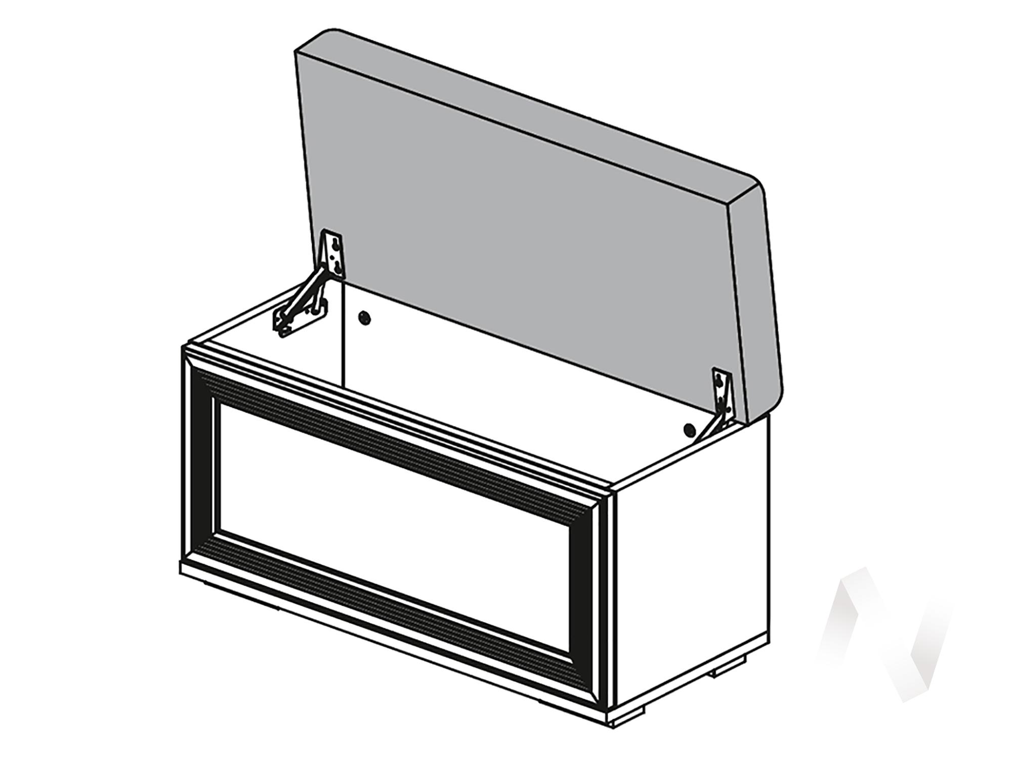 Банкетка ЛБ-20 Спальня Ливорно (дуб сонома)