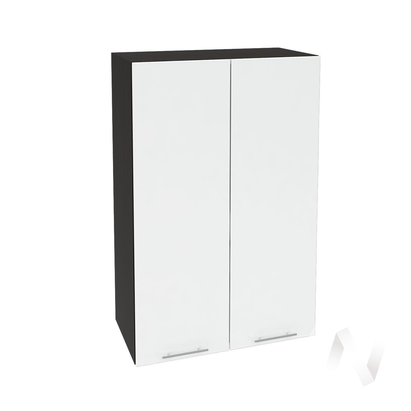 """Кухня """"Валерия-М"""": Шкаф верхний 609, ШВ 609 (белый глянец/корпус венге)"""