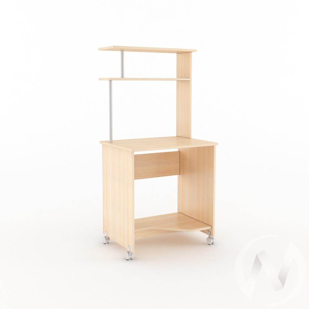 Компьютерный стол КС 700 (дуб молочный)  в Томске — интернет магазин МИРА-мебель
