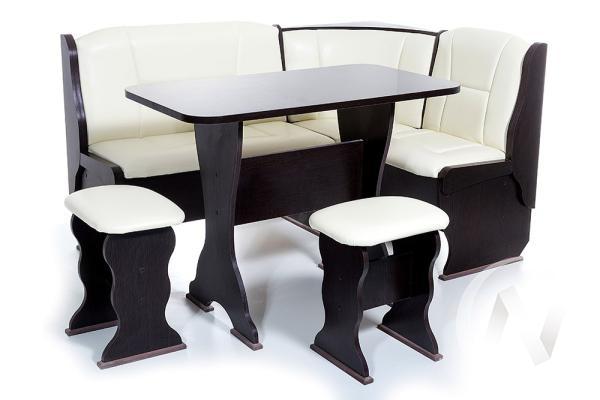 """Набор мебели для кухни """"Орхидея"""" венге Барнео Милк"""