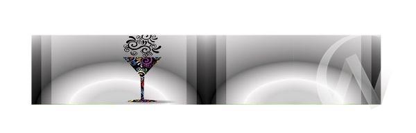 Панель декоративная ХДФ 610*2440*3,2 Абстракция (651)