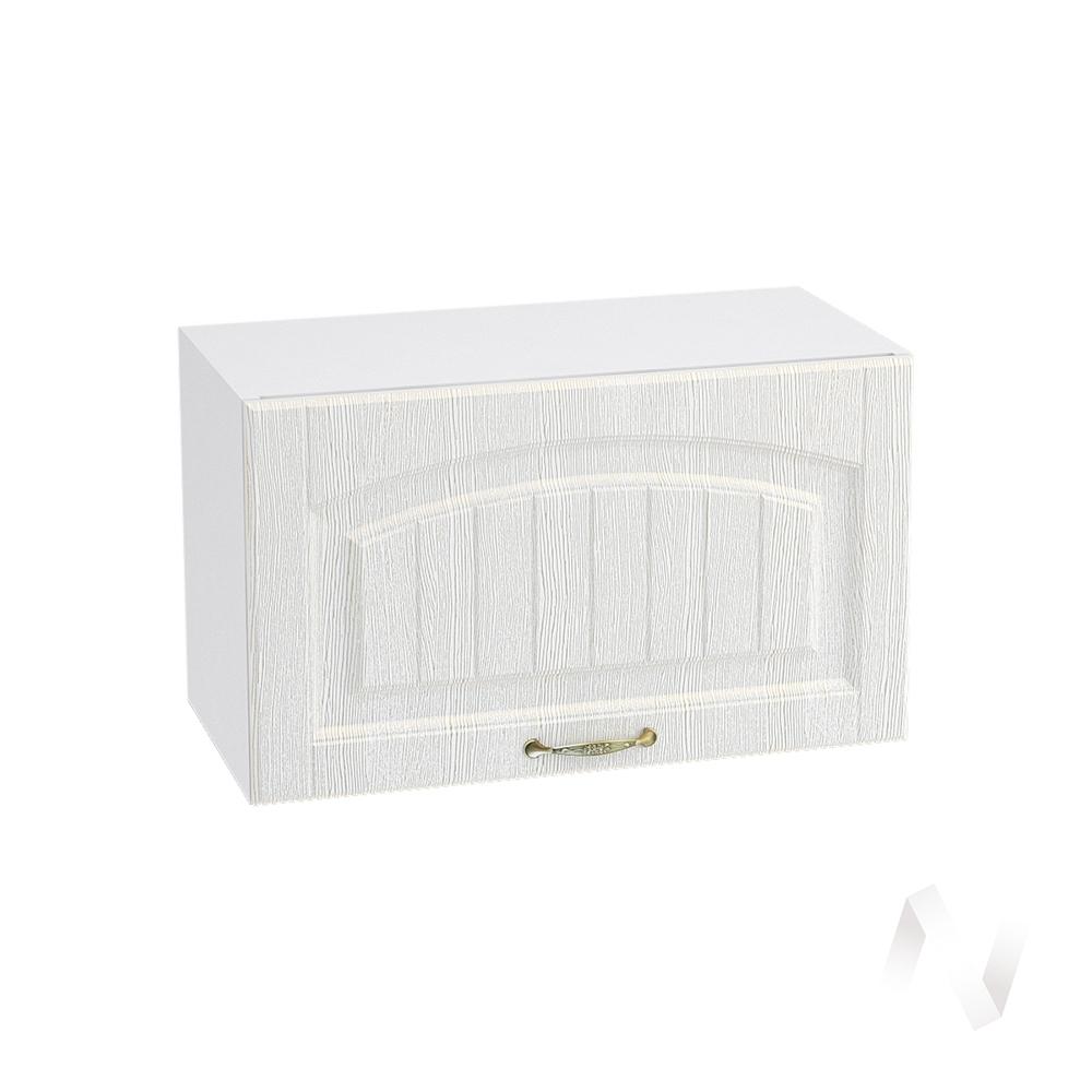 """Кухня """"Верона"""": Шкаф верхний горизонтальный 600, ШВГ 600 (ясень золотистый/корпус белый)"""