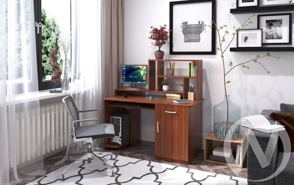 Компьютерный стол СК-3 (орех итальянский)