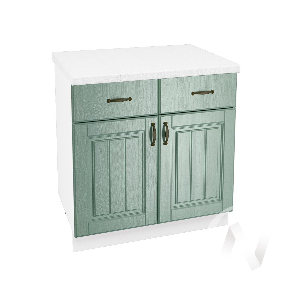"Кухня ""Прованс"": Шкаф нижний с ящиками 800, ШН1Я 800 (корпус белый)"