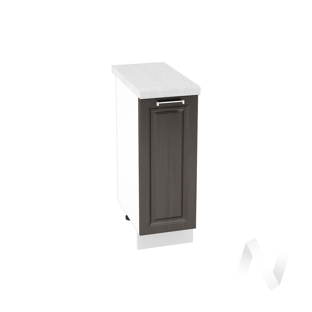 "Кухня ""Прага"": Шкаф нижний 300, ШН 300 (венге/корпус белый)"