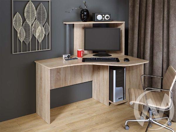 Компьютерный стол КС 1200 угловой (дуб сонома)