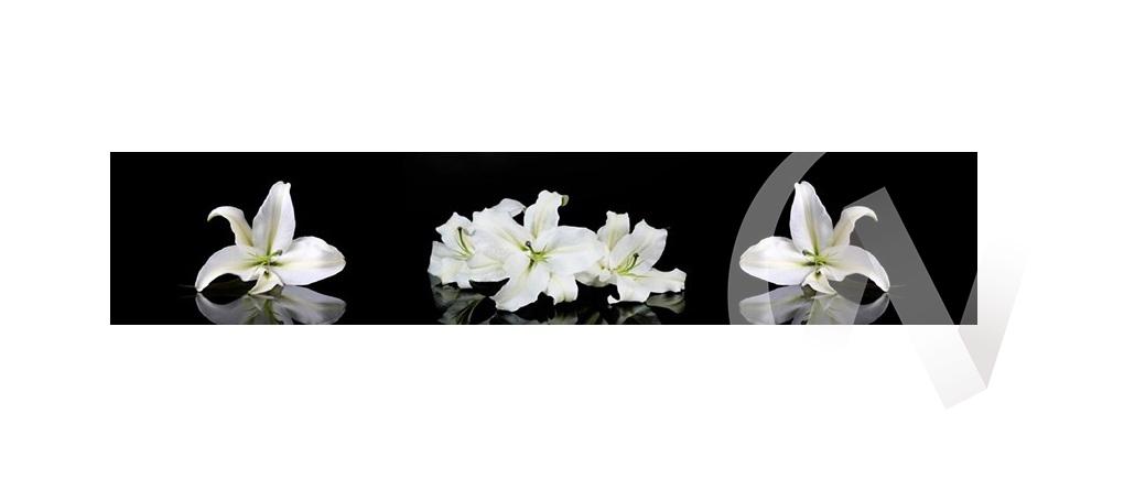 Панель декоративная АВС пластик 600*3000 Цветы (12301) фф224