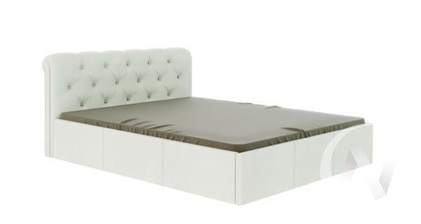 Кровать Калипсо 1,6 (белый)