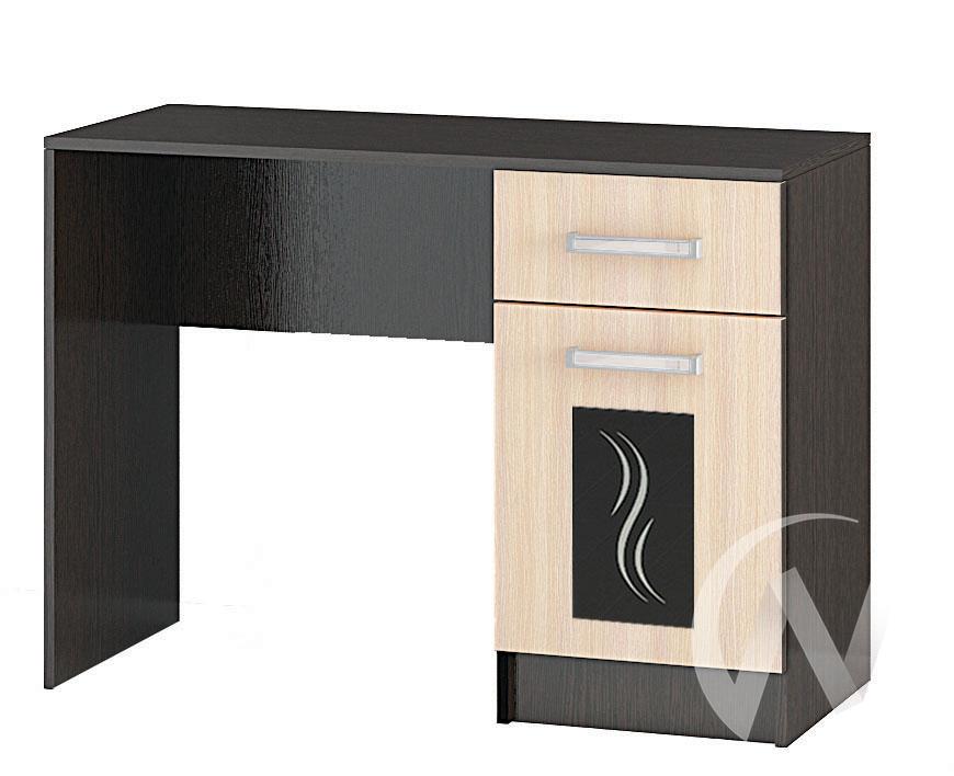 Стол макияжный Спальня Эрика (венге/дуб молочный)  в Томске — интернет магазин МИРА-мебель