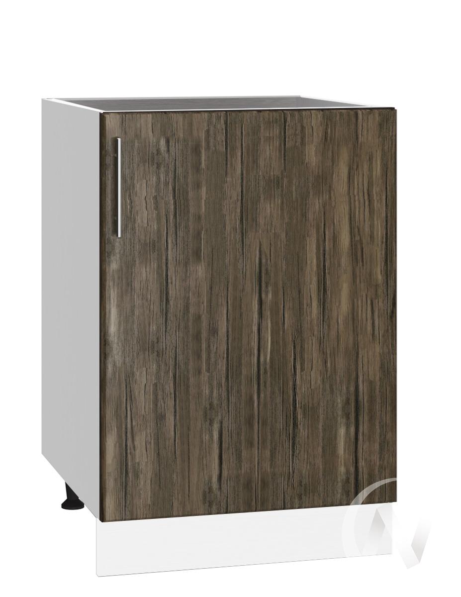 "Кухня ""Норден"": Шкаф нижний под мойку 500, ШНМ 500 (старое дерево/корпус белый)"