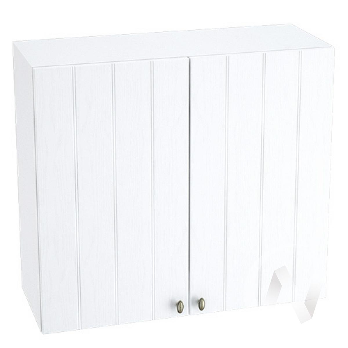 "Кухня ""Прованс"": Шкаф верхний 800, ШВ 800 (белое дерево/корпус белый)"