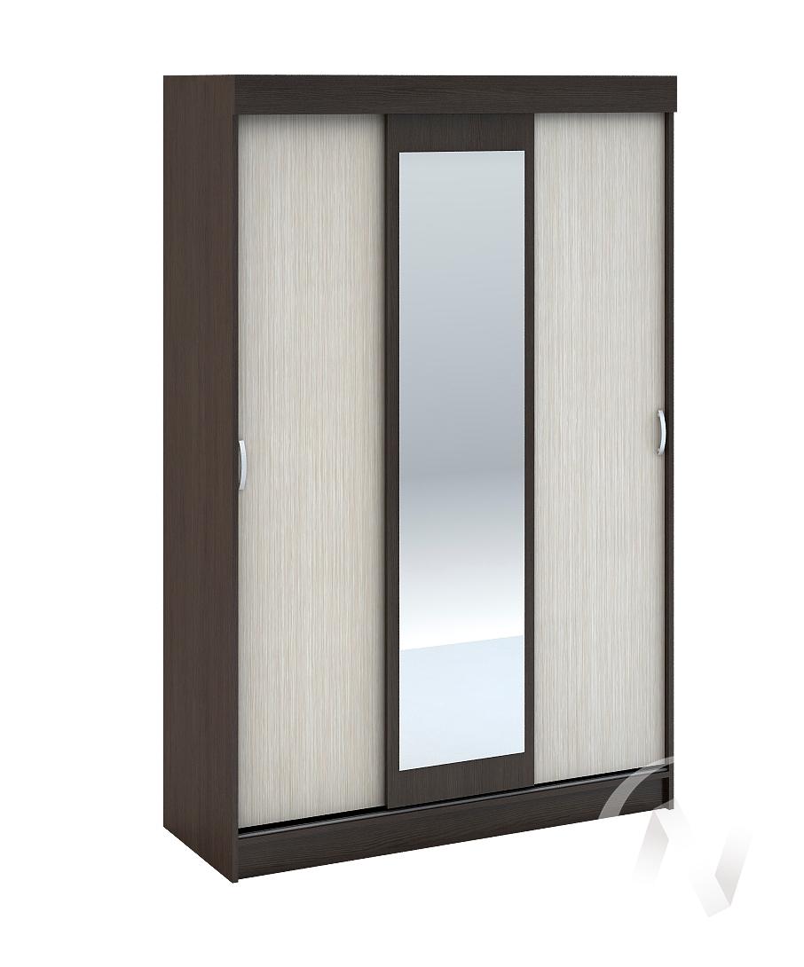 Шкаф-купе ШКК 551 М Спальня Бася (венге/белфорд)  в Томске — интернет магазин МИРА-мебель